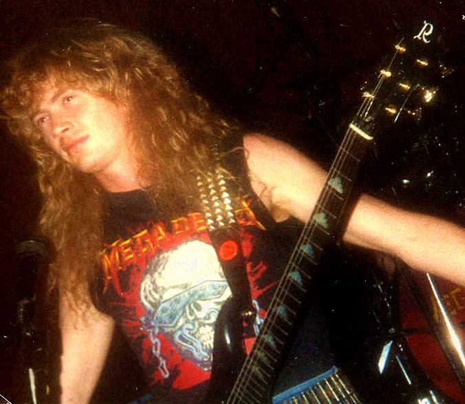 dave mustaine nike